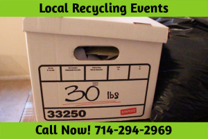 Local Recycling Events Huntington Beach CA