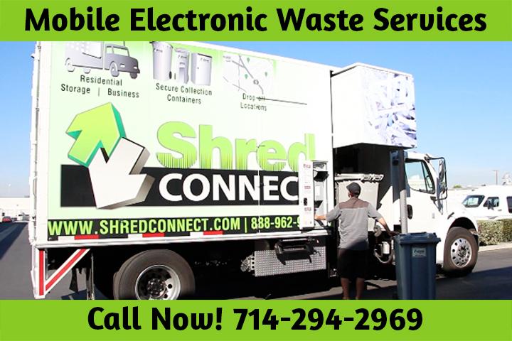 Mobile Electronic Waste Service Huntington Beach CA