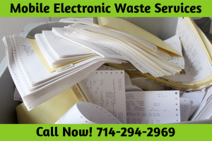 Shredding Services Huntington Beach CA