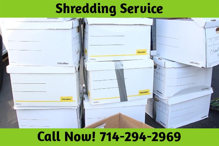 Shredding Service Huntington Beach CA